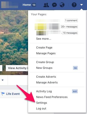 फेसबुक अकाउंट