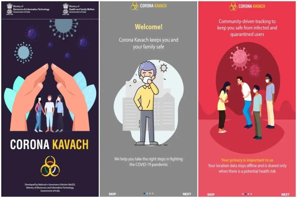 Corona Kavach App
