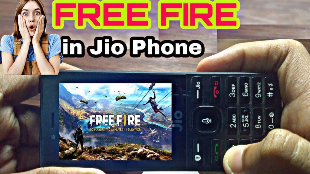 Jio Phone में फ्री फायर गेम