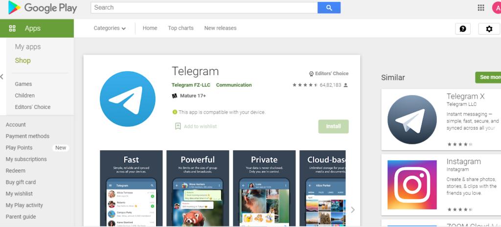 Telegram App Download