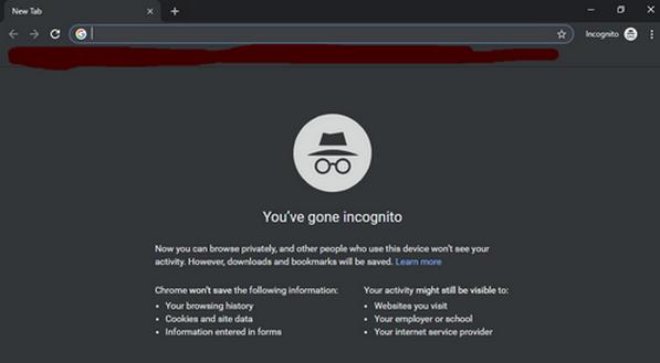 Incognito Mode गूगल क्रोम