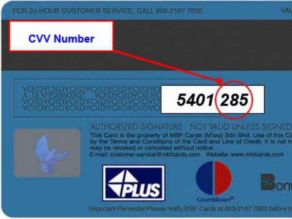 CVV Number क्या होता है