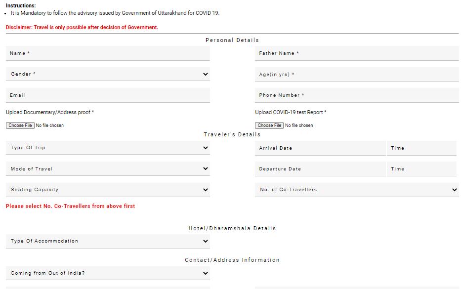 Kumbh Mela Registration