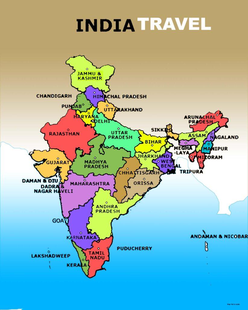 इंडिया मैप