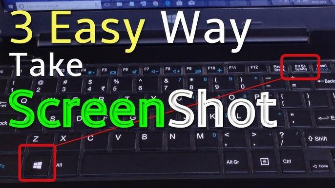 कंप्यूटर में स्क्रीनशॉट कैसे लिया जाता है।