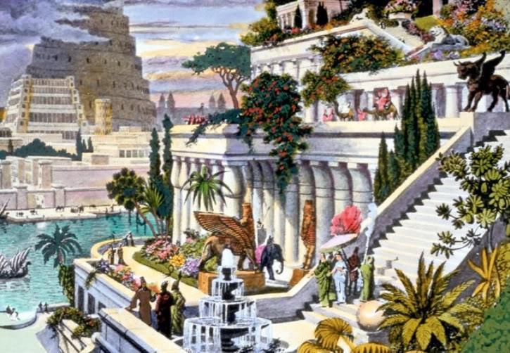 बेबीलोन के झूलते बाग़