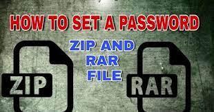 Zip File या Rar File