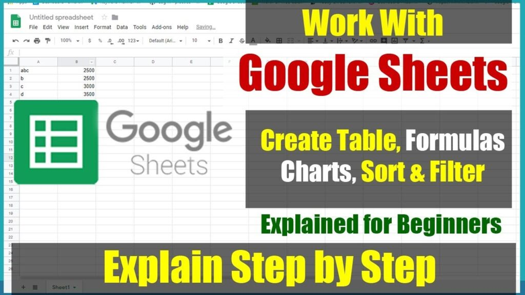 गूगल शीट क्या है